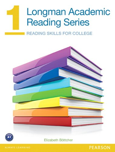 9780132786645: Longman Academic Reading Series 1: Reading Skills for College