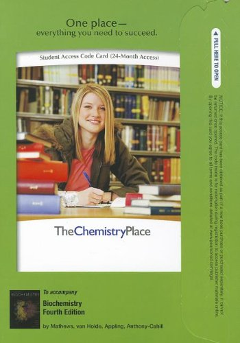 9780132787833: Premium Website for Biochemistry (4th Edition) (ChemistryPlace (Access Codes))