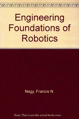 9780132787970: Engineering Foundations of Robotics