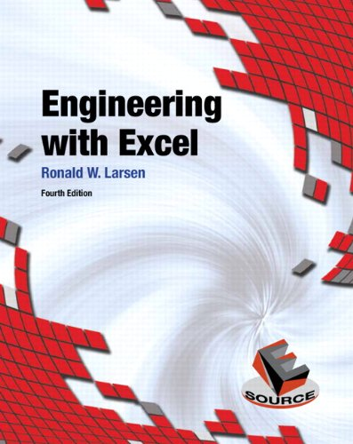 9780132788656: Engineering with Excel