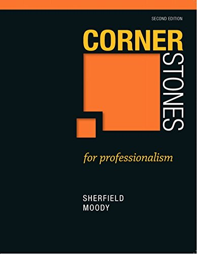 9780132789349: Cornerstones for Professionalism (2nd Edition)