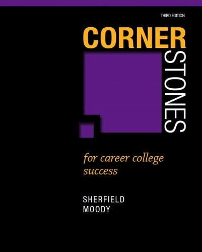 9780132789356: Cornerstones for Career College Success (3rd Edition)