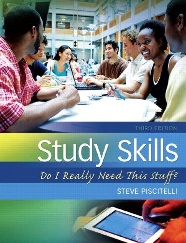 Study Skills: Do I Really Need This: Steve Piscitelli