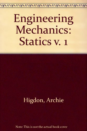 9780132790185: Engineering Mechanics: Statics v. 1
