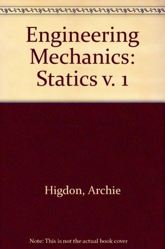 9780132790185: Engineering Mechanics: Statics v. 1