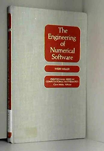 9780132790437: Engineering of Numerical Software (Prentice-Hall series in computational mathematics)