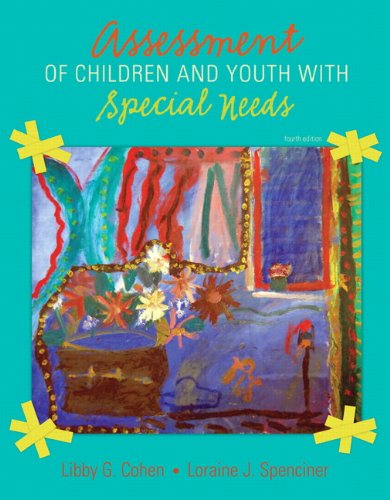 9780132791700: Assessment of Children and Youth with Special Needs with What Every Teacher Should Know About: Transition and IDEA 2004 and MyEducationLab (4th Edition)