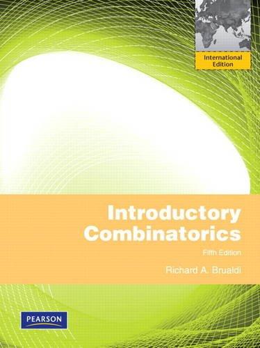 9780132791717: Introductory Combinatorics: International Edition