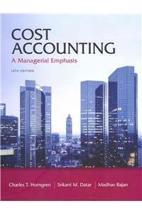 9780132795166: Cost Accounting: A Managerial Emphasis [With Access Code]