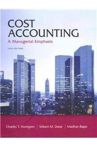 9780132795166: Cost Accounting with MyAccountingLab with Pearson eText -- Instant Access -- for Cost Accounting & MyAccountingLab -- Valuepack Access Card, Component (1- semester access) Package (14th Edition)