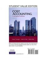 9780132795173: Cost Accounting, Student Value Edition Plus MyAccountingLab with Pearson eText -- Access Card Package (1- semester access) (14th Edition)