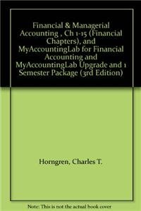9780132795180: Financial & Managerial Accounting: The Financial Chapters [With Access Code]