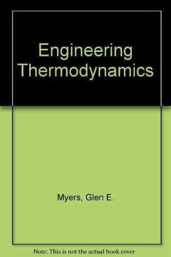 9780132795555: Engineering Thermodynamics