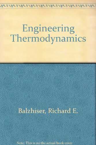 9780132795708: Engineering Thermodynamics