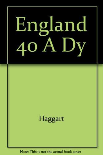9780132796132: England 40 A Dy