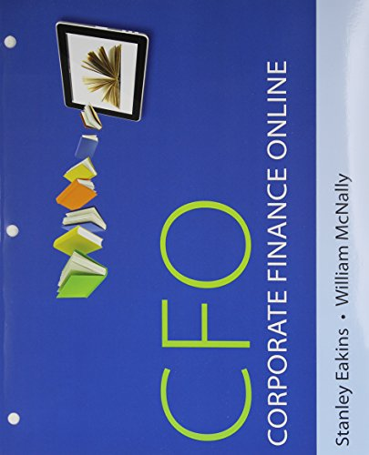 9780132796293: Corporate Finance Online -- Print Offer