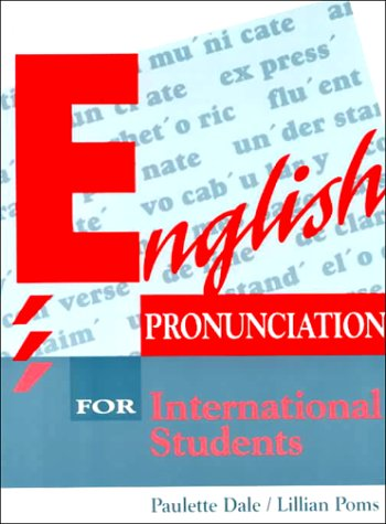 9780132798525: English Pronunciation for International Students