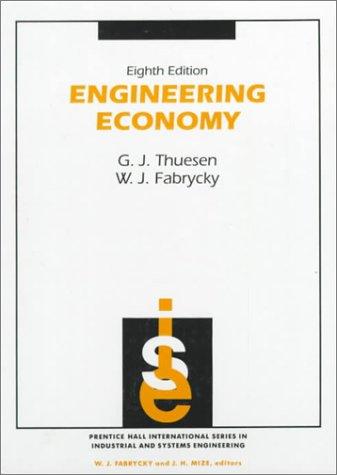9780132799287: Engineering Economy