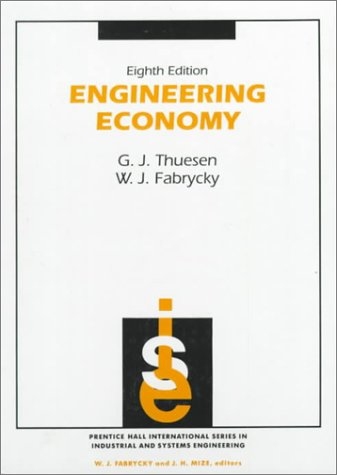 9780132799287: Engineering Economy (Prenctice hall international series in industrial & Systems Engineering)