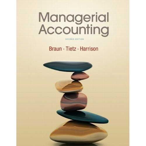 9780132801560: Managerial Accounting and MyAccountingLab with Pearson eText -- Access Card -- for Managerial Accounting Package (2nd Edition)