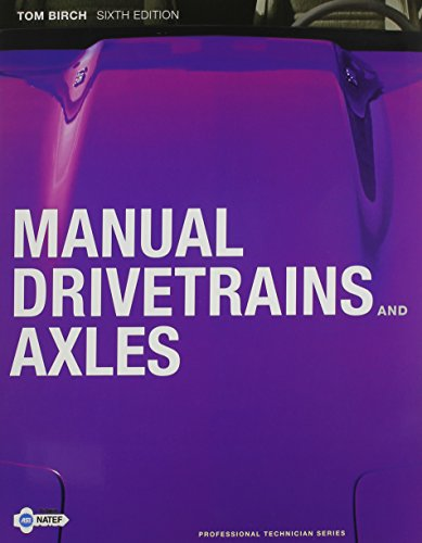 9780132802222: Manual Drivetrains and Axles with NATEF Correlated Task Sheets (6th Edition)