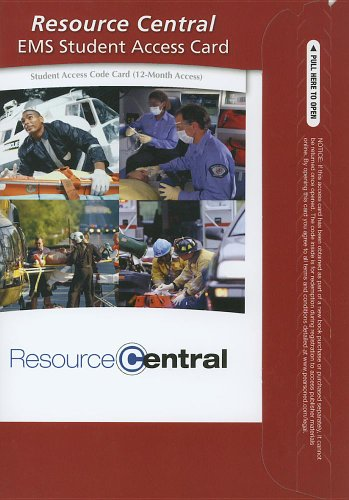 9780132803212: Resource Central EMS -- Access Card