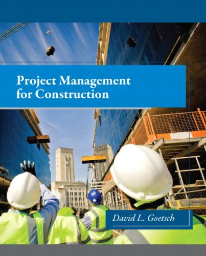 9780132803243: Project Management for Construction