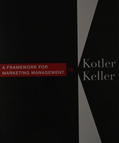 Framework for Marketing Management & Interpretive Simulations: Kotler, Philip, Keller,