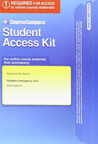 9780132803946: Text Resources -- Access Card -- for Outdoor Emergency Care