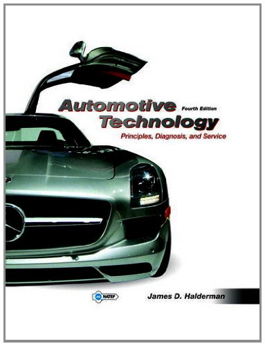 Automotive Technology (w MyAutomotiveLab Pegasus etext): Halderman