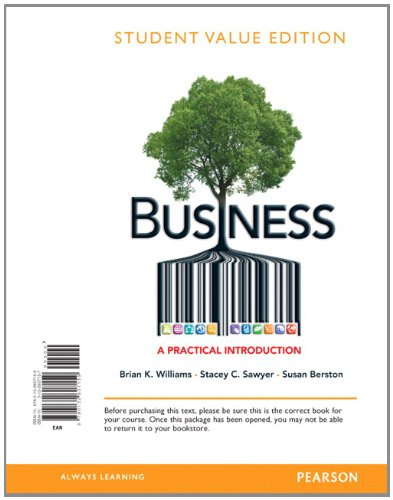 9780132807159: Business: A Practical Introduction, Student Value Edition