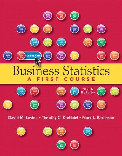 9780132807265: Business Statistics (6th Edition)