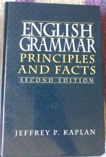 9780132809672: English Grammar: Principles and Facts