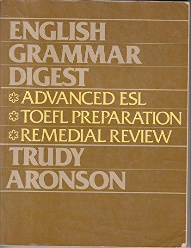 9780132810142: English Grammar Digest