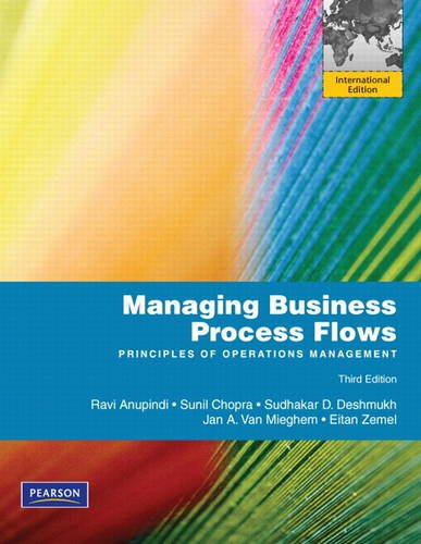 9780132811361: Managing Business Process Flows. Ravi Anupindi ... [Et Al.]