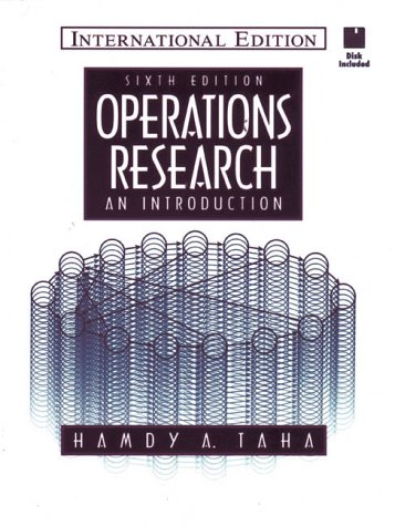 9780132811729: Operations Research: An Introduction (Prentice Hall international editions)