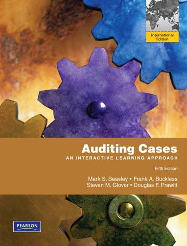 9780132815598: Auditing Cases: An Interactive Learning Approach