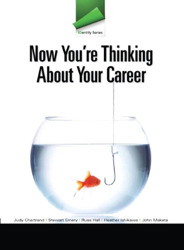 9780132819671: IDentity Series: Now You're Thinking about Your Career