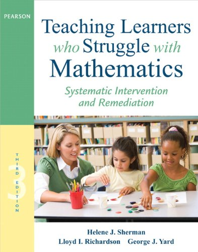 9780132820608: Teaching Learners who Struggle with Mathematics: Systematic Intervention and Remediation (Pearson Professional Development)