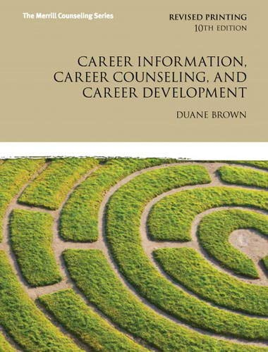 9780132821391: Career Information, Career Counseling, and Career Development (Merrill Counseling)