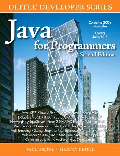 9780132821544: Java for Programmers (Deitel Developer)