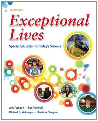 9780132821773: Exceptional Lives: Special Education in Today's Schools (7th Edition)