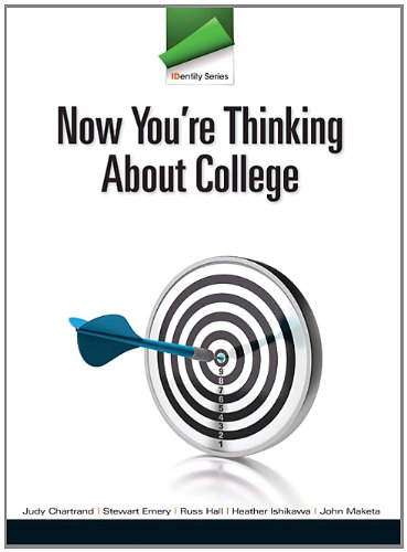 9780132825740: IDentity Series: Now You're Thinking about College