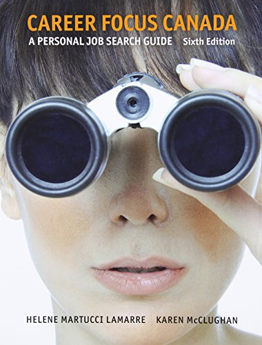 9780132825931: Career Focus Canada: A Personal Job Research Guide (6th Edition)