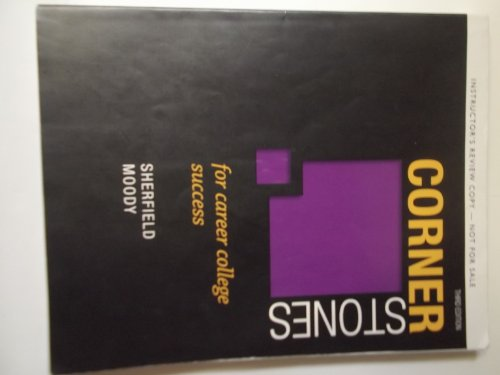 9780132826471: Cornerstones for Career College Success Third Edition - Instructors Review Copy Paperback