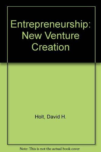 9780132826747: Entrepreneurship: New Venture Creation