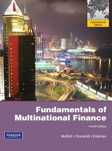 9780132829915: Fundamentals of Multinational Finance