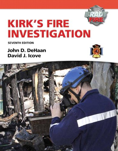 9780132830003: Kirk's Fire Investigation with MyFireKit Student Access Code Card Package (7th Edition) (Brady Fire)