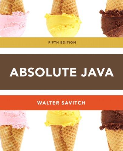 9780132830317: Absolute Java