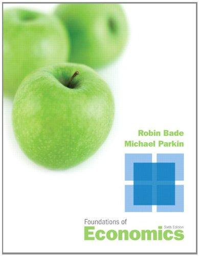9780132831055: Foundations of Economics (6th Edition)